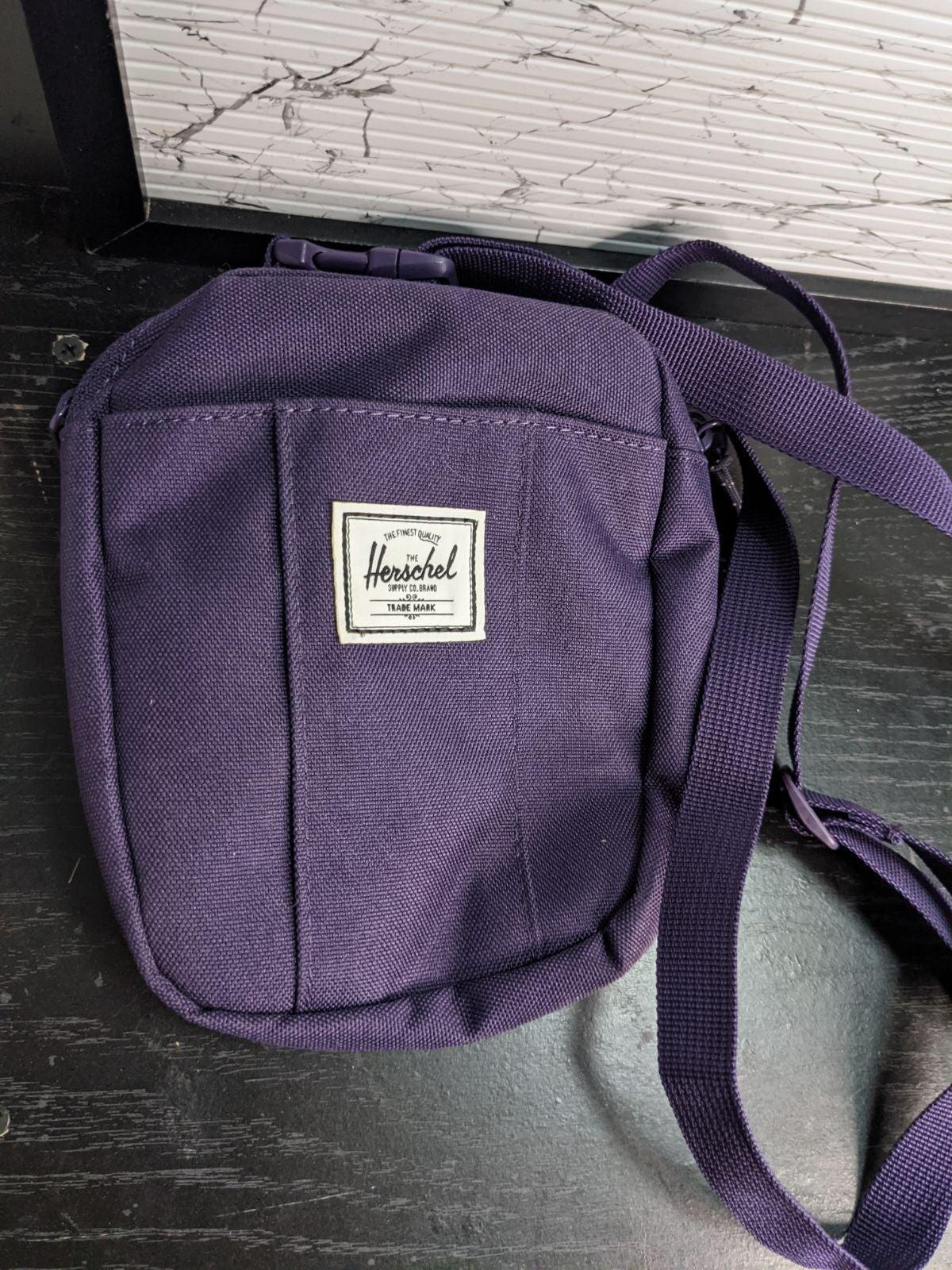 Herschel Cruz Cross Body Bag Purple