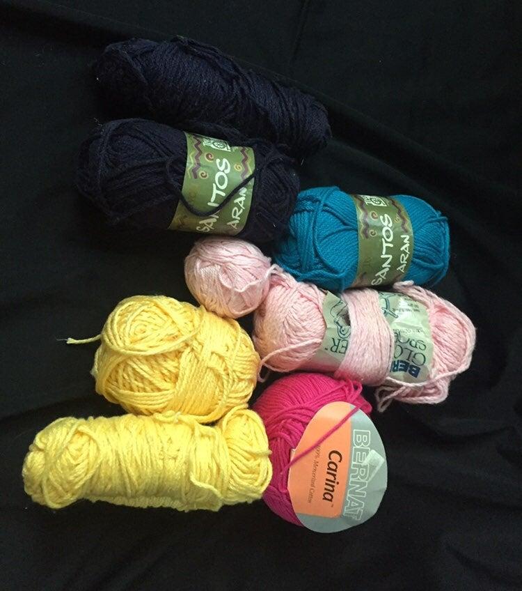 Mixed lot cotton yarn
