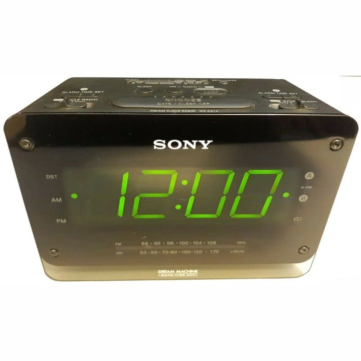 Sony ICF-C414 Dream Machine Dual Alarm