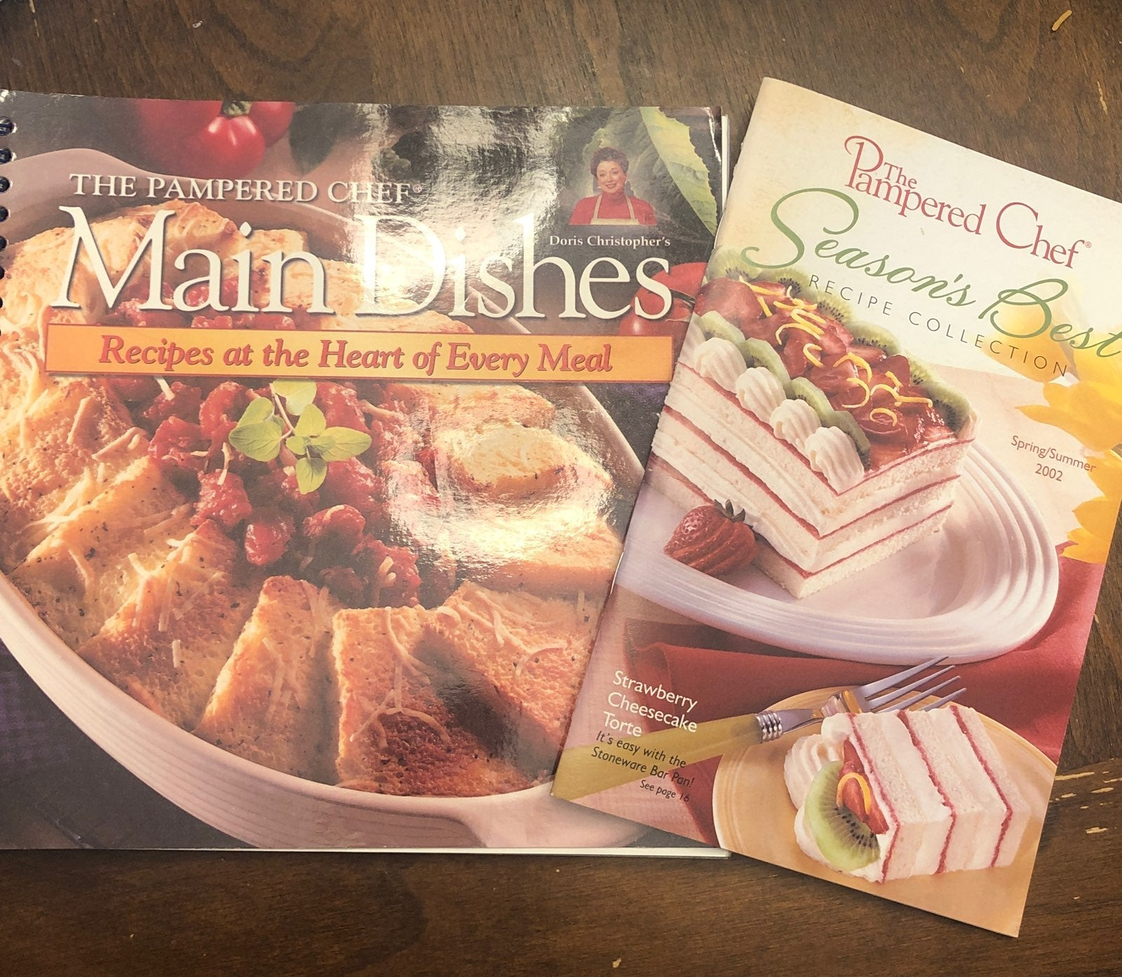 Pampered Chef Cookbooks