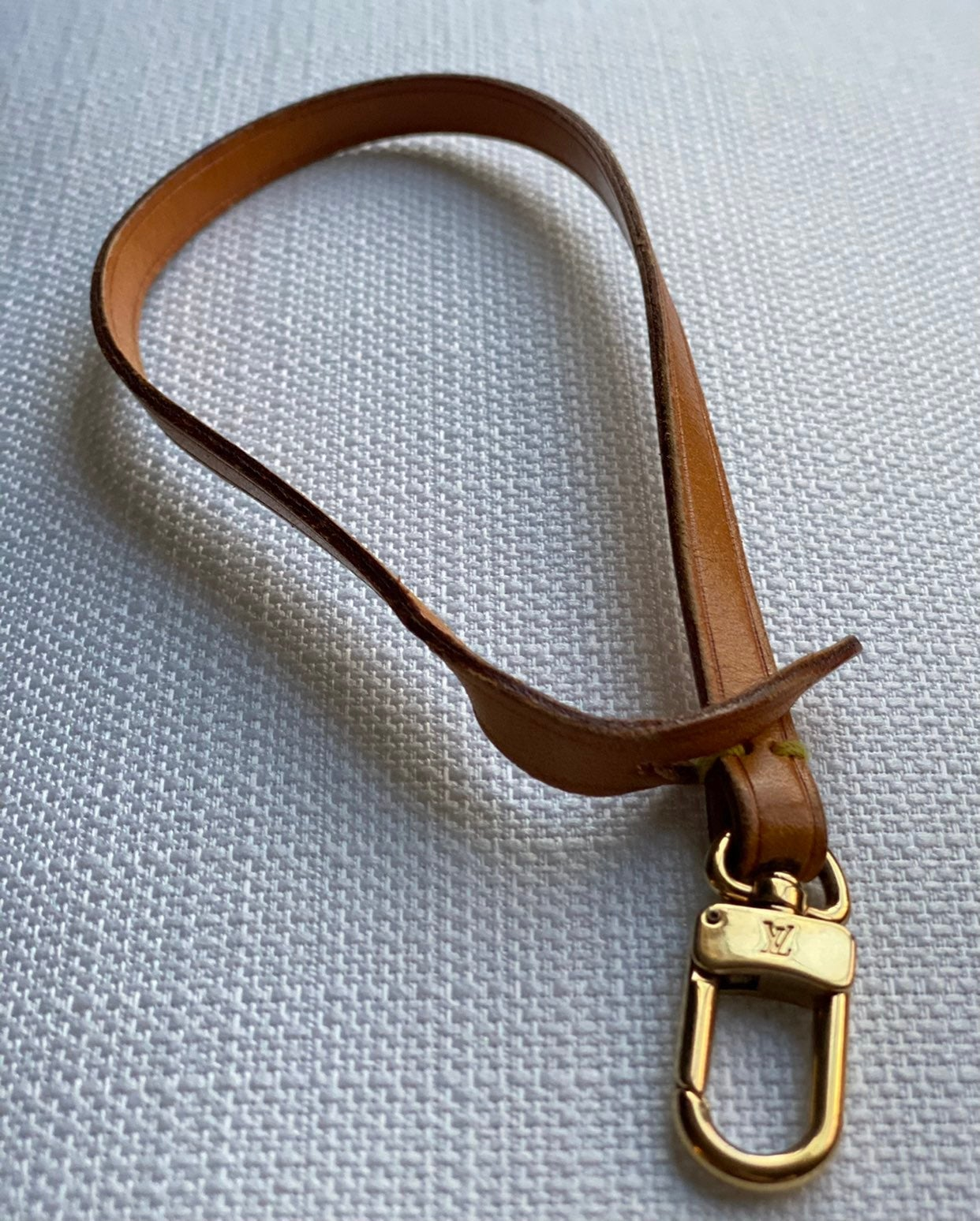 Louis Vuitton Wristet Vachetta Strap