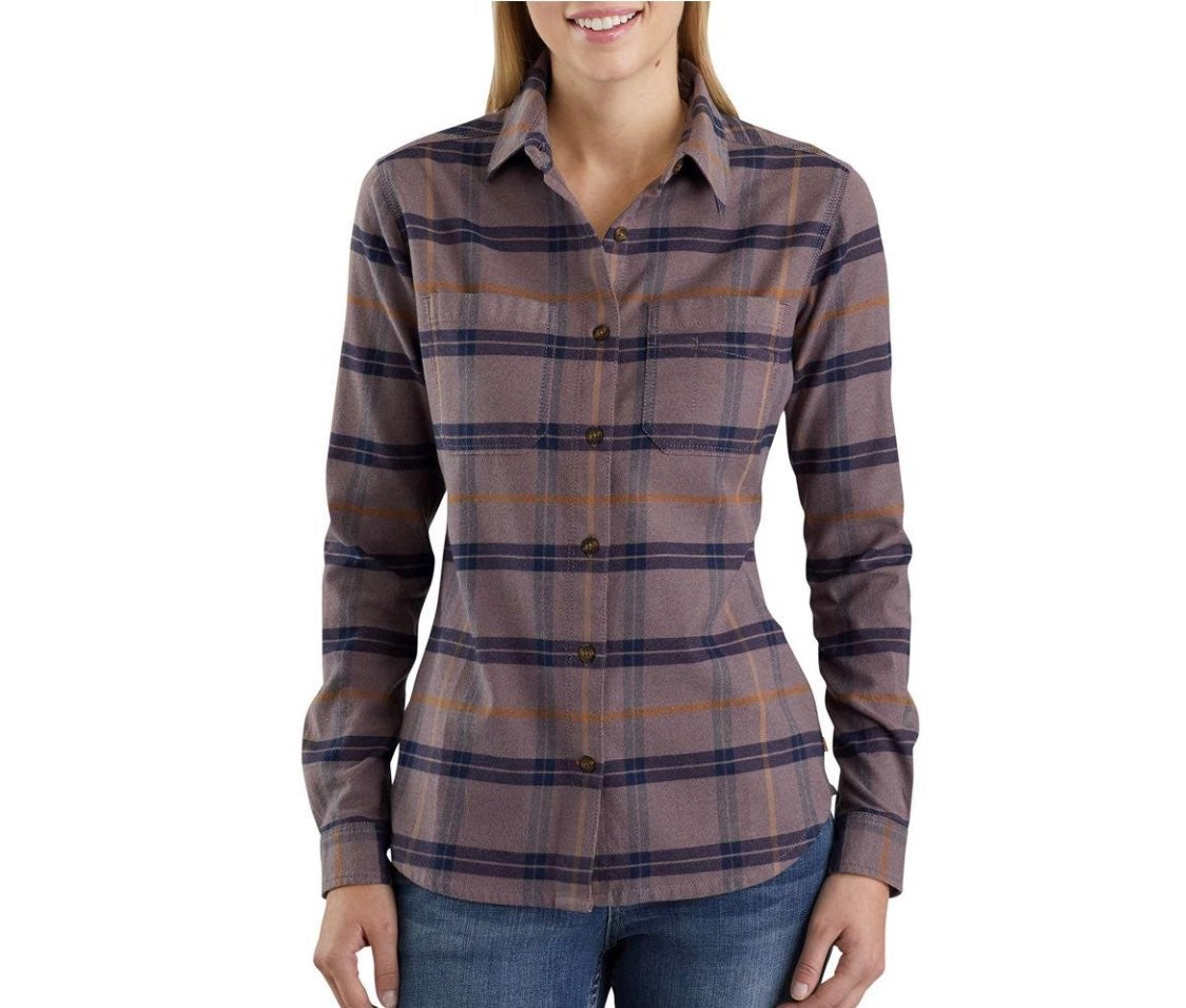 carhartt womens sparrow flannel