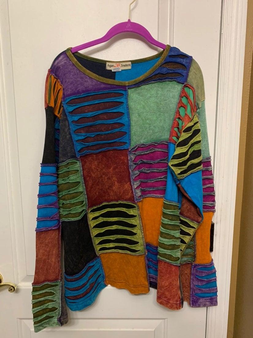 Women's long sleeve XXL Agan Traders Swe
