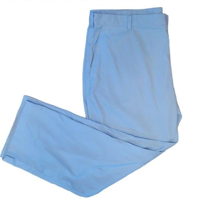 Men's 42x30 Nike Golf Pants - Dri-Fit - Baby Blue - Polyester - SEE DESCRIPTION