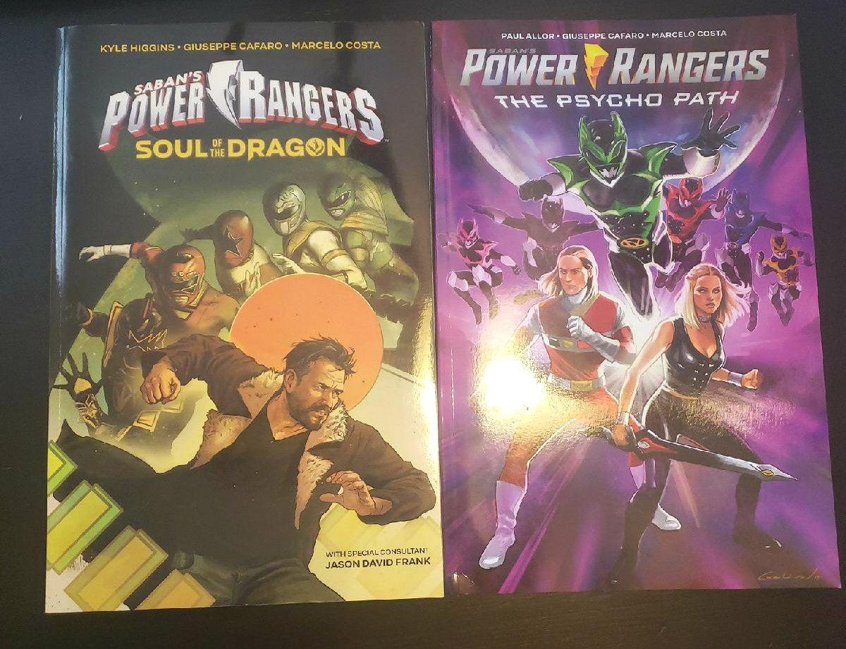 Power Rangers Trade Graphic Novels
