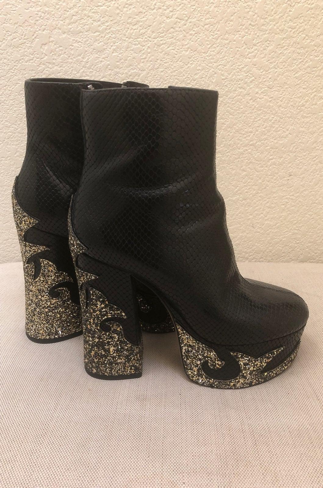 Marc Jacobs (Platform) Sparkle Boot