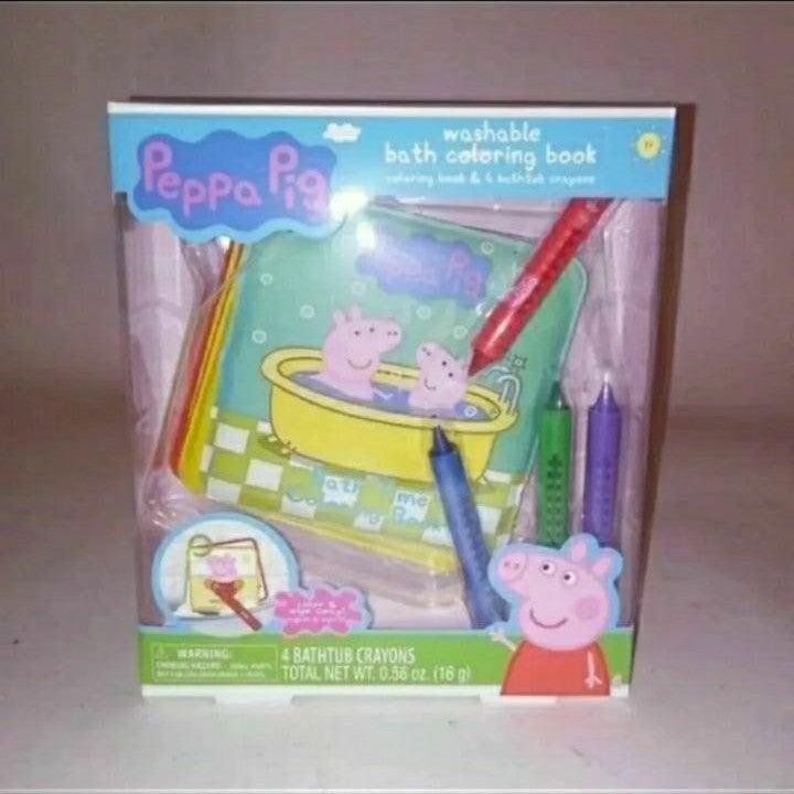 Peppa Pig Washable Coloring Book Brand N