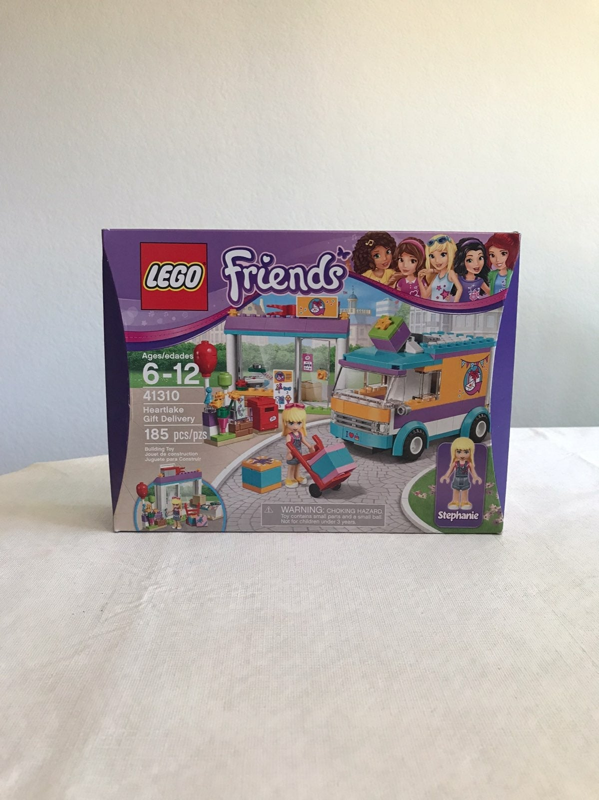 LEGO Friends Heartlake Gift Delivery NEW