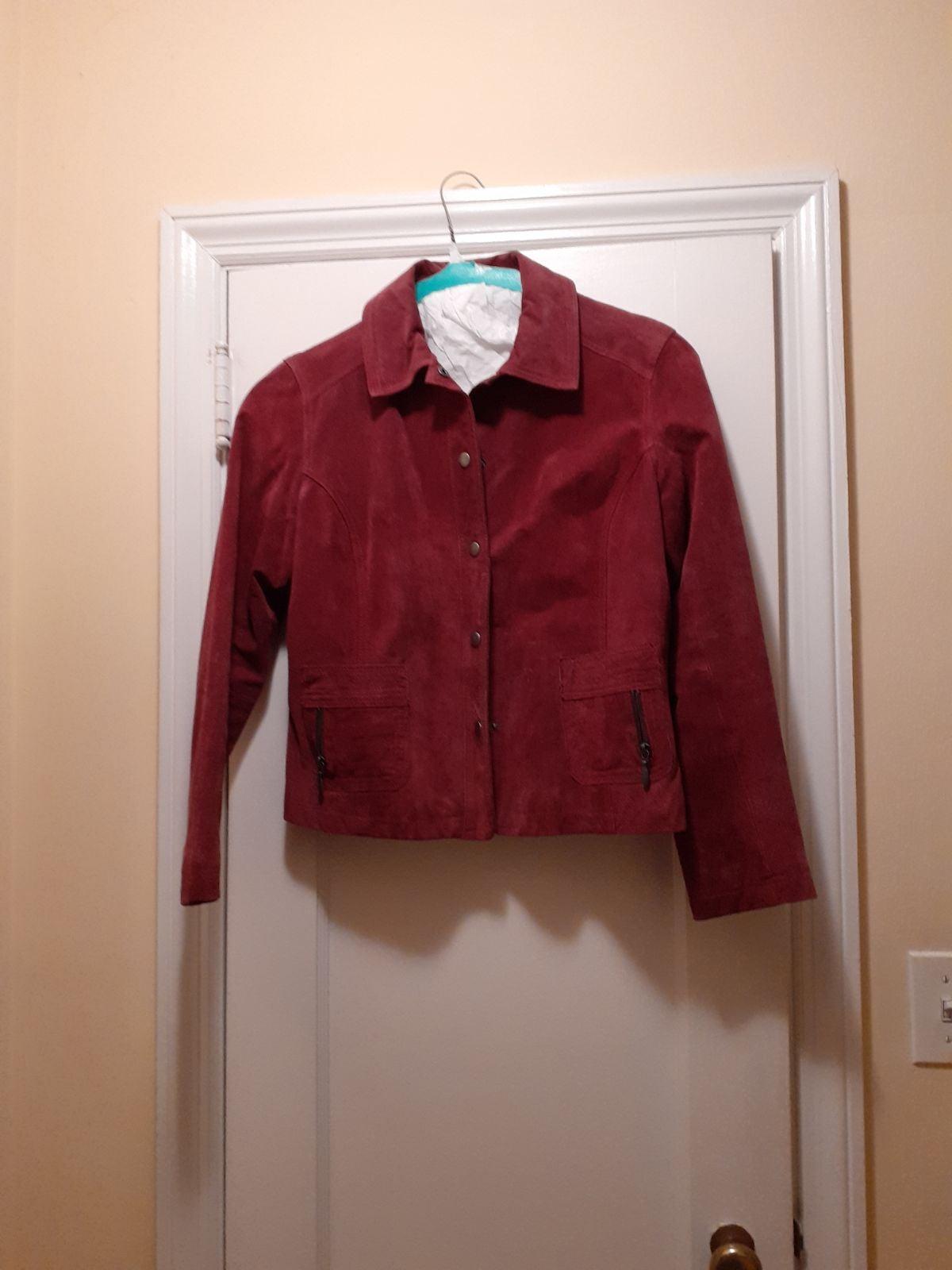 Chico's suede Jacket