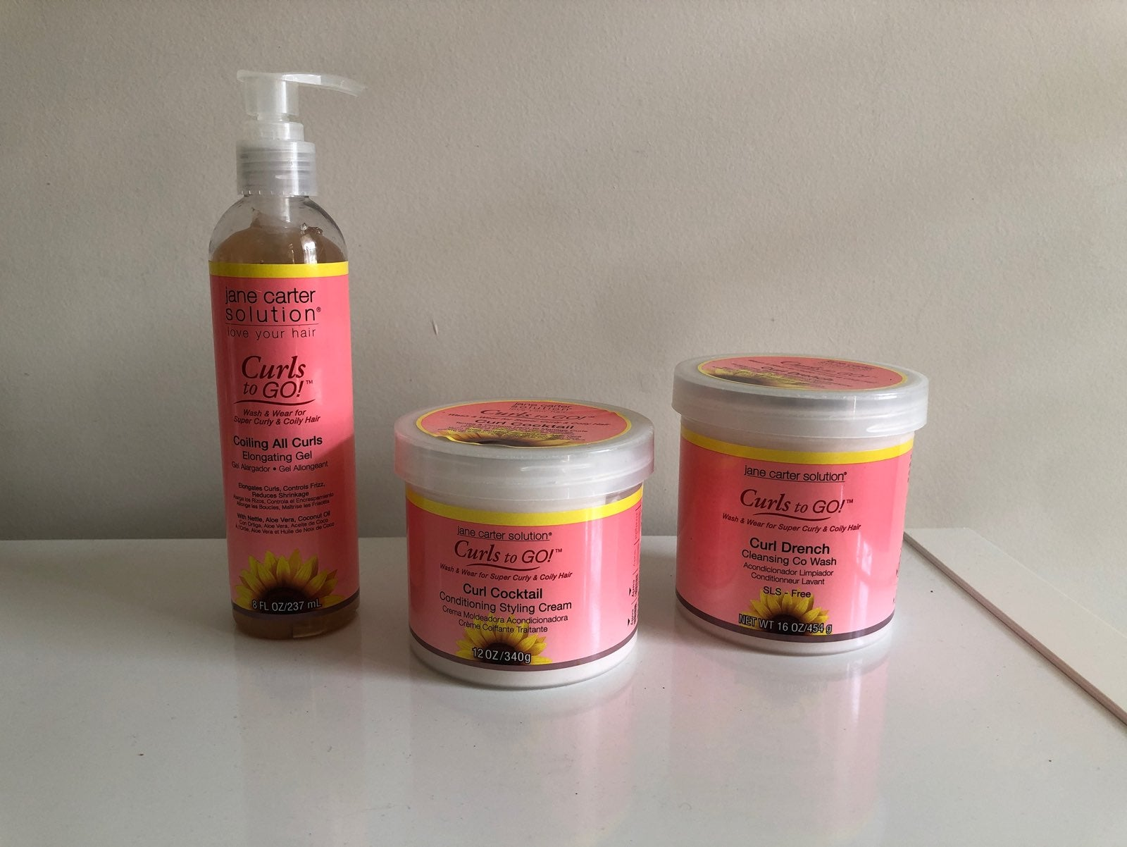 Jane Carter Solutions Curls to Go! Set