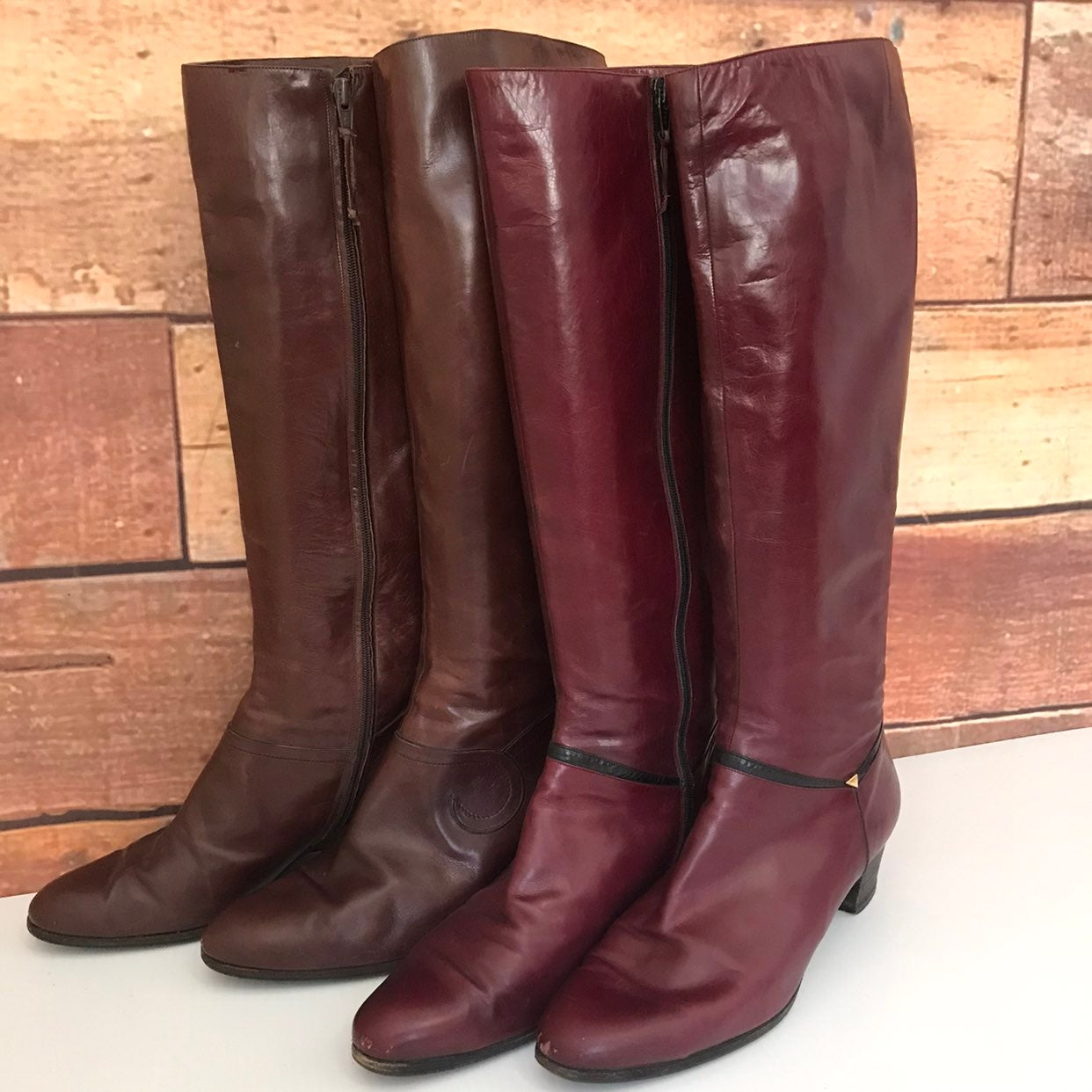 Vintage Salvatore Ferragamo Boots Sz10.5