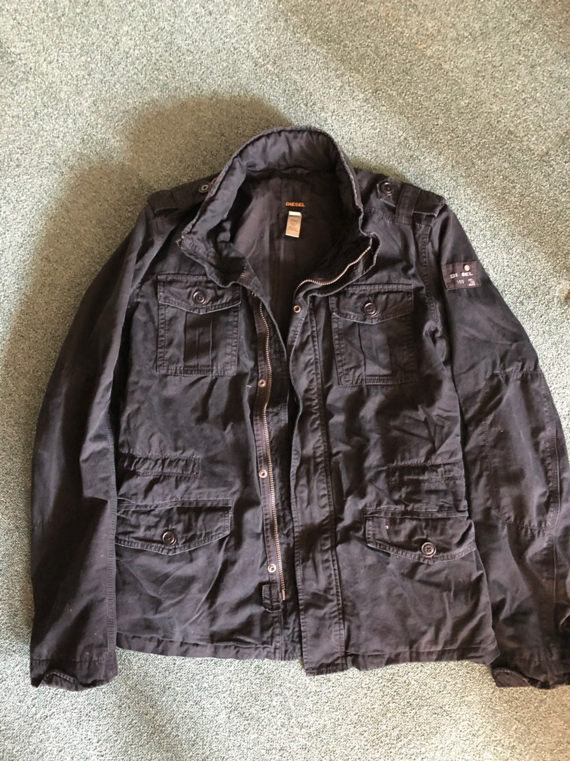 Diesel Jacket Mens Large Great Condition