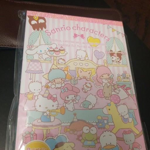 Sanrio Characters Memo Pad