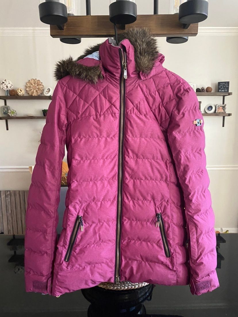 Roxy Jacket Small - Roxy Quinn Snow Jack