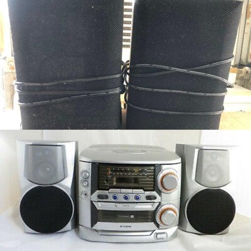 Curtis RCD856 Radio CD Speaker 5 Set