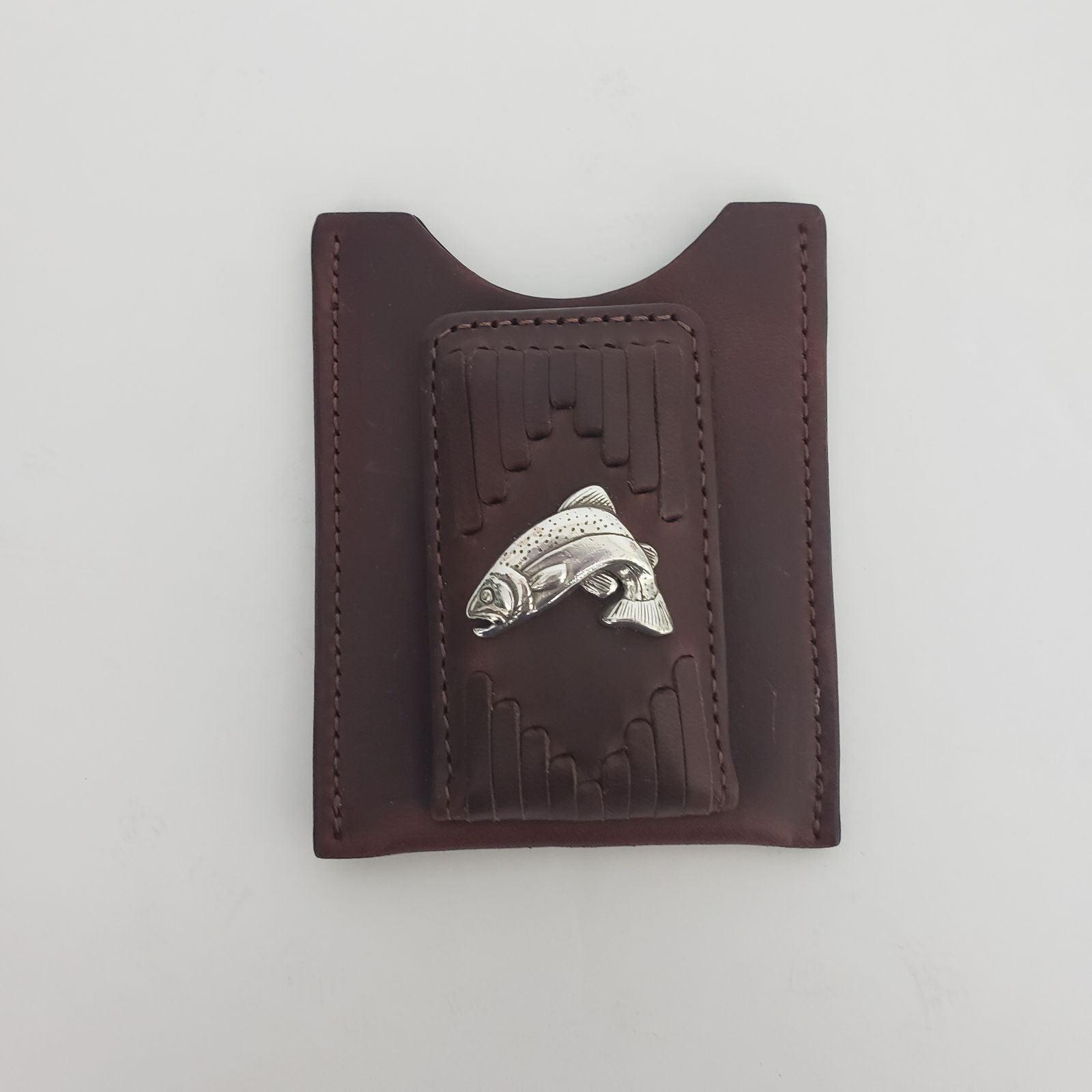Brighton Men Leather Money Clip Wallet