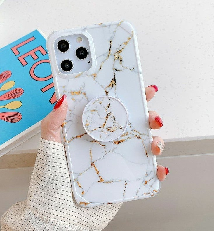 iPhone 12 Pro Case Marble & Holder