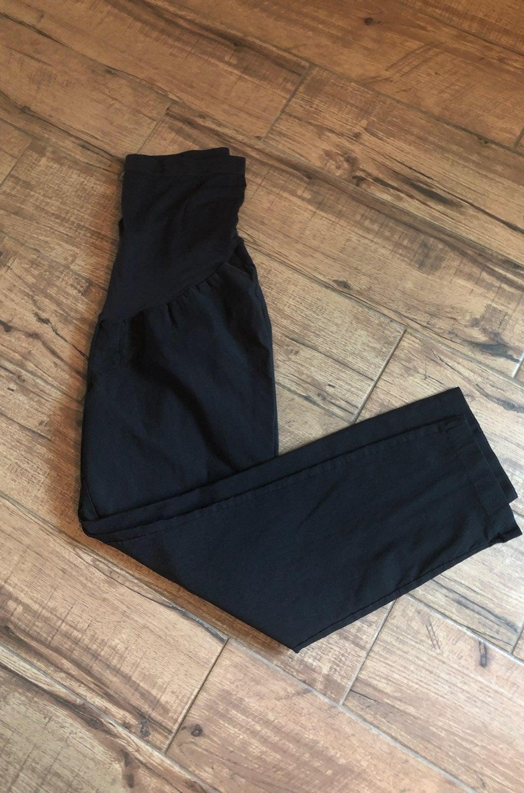 Aglow Maternity Black Pants 16
