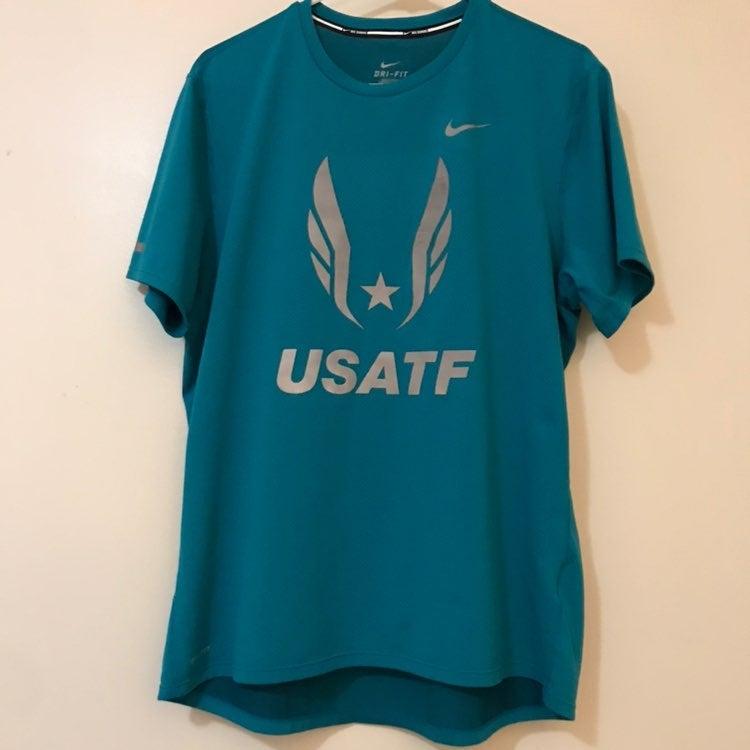 Nike USATF Running Shirt
