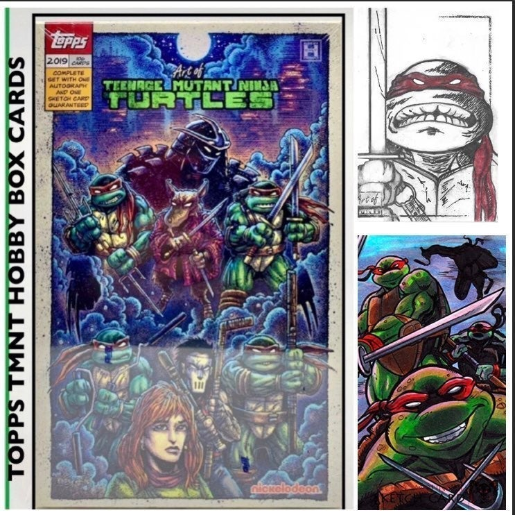 2019 ART OF TMNT CARDS FACTORY SEALED