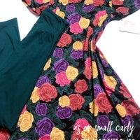 22ed8efeca62 LuLaRoe Rose Print Dresses | Mercari