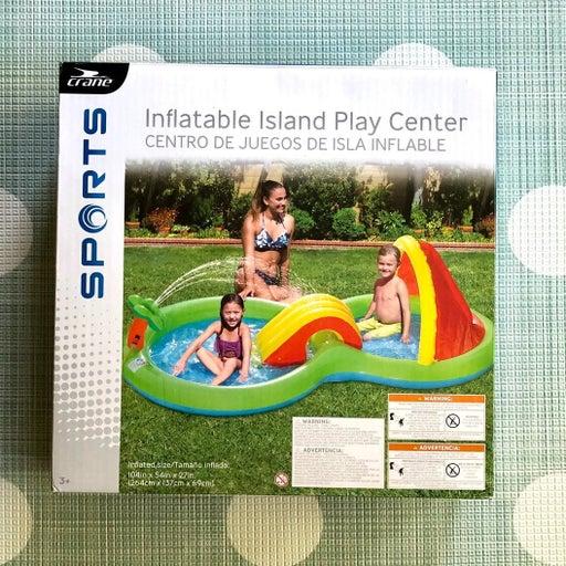 Crane Inflatable Pool Island Play Center