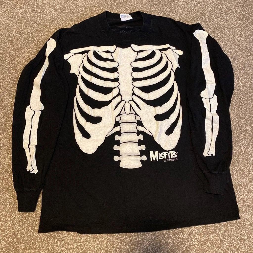 Misfits 1997 Glow in Dark Long Sleeve XL