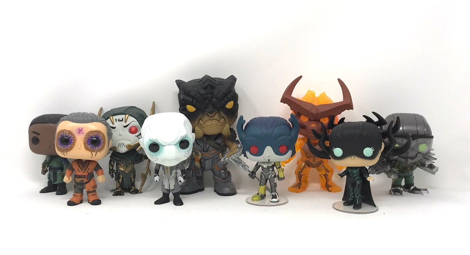 Funko Pop! MCU Villains Loose Lot of 9