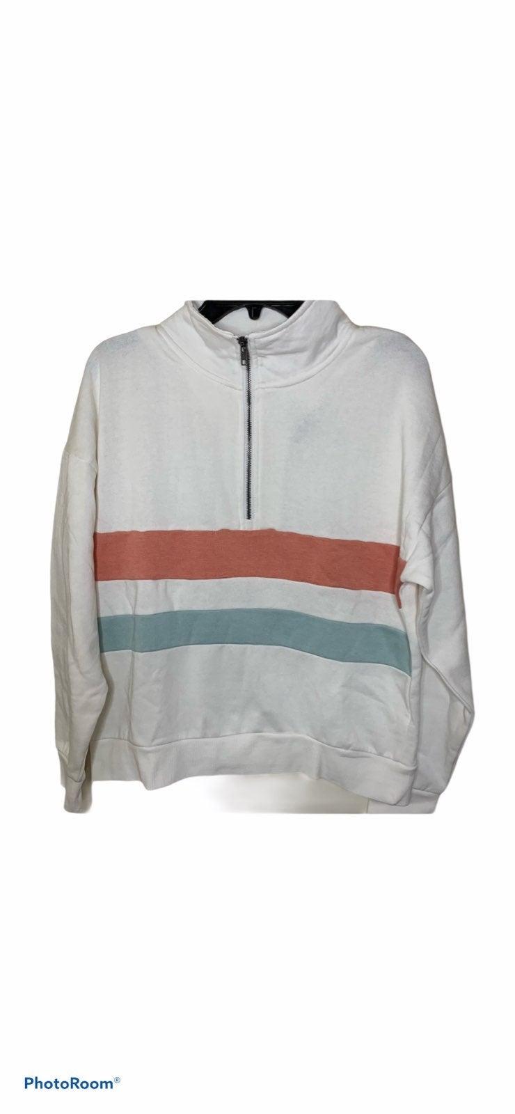 Hippie Rose Half Zip Sweater