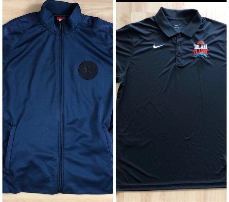 NIKE Jacket x Polo shirts Bundle XL