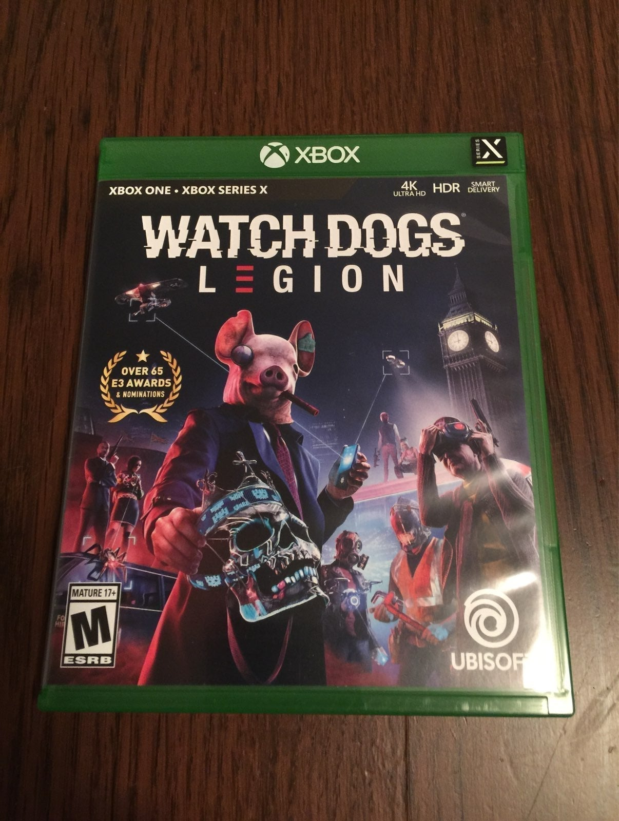Watch Dogs Legion on Xbox Series X/S and