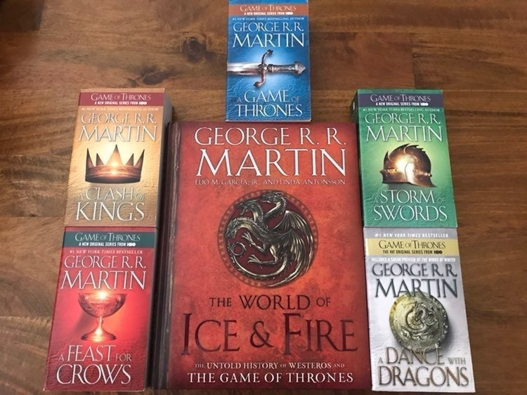 NEW The Song of Ice and Fire
