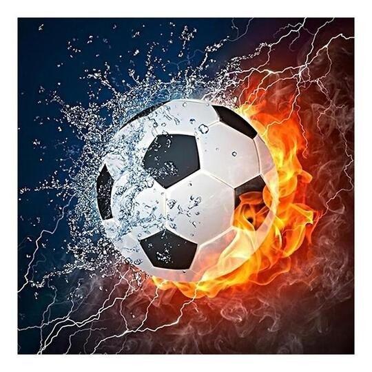 FOOTBALL - DIAMOND PAINTING - 30x40cm