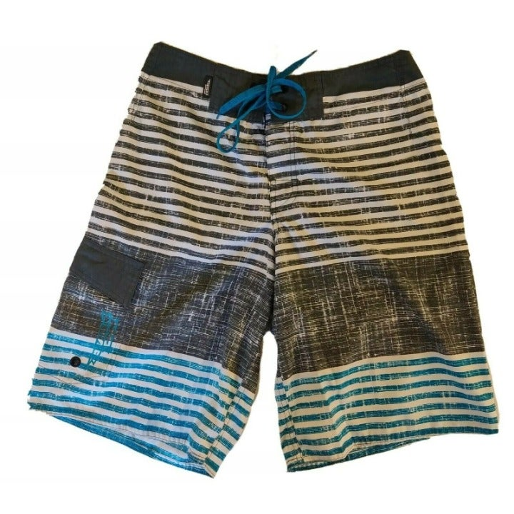 Vintage 90's NO FEAR Board Trunks Surf L