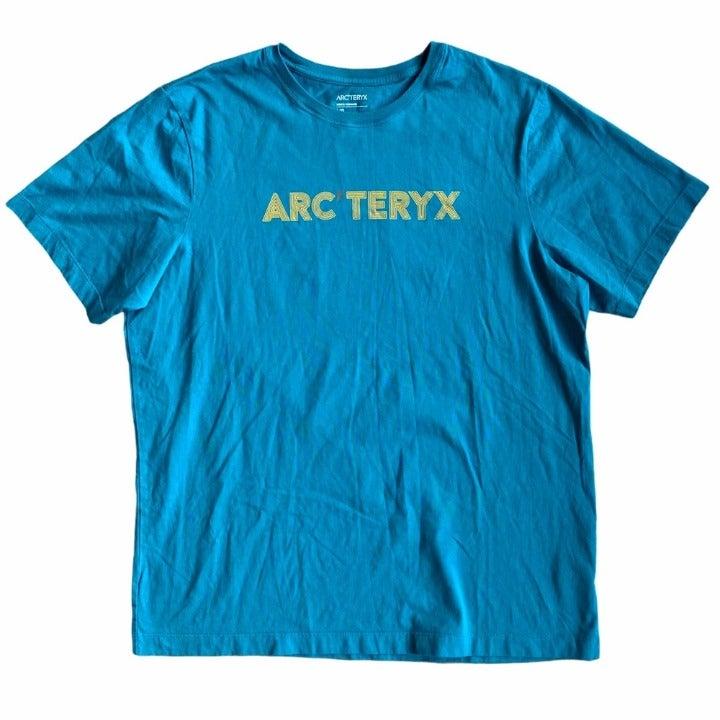 Men's Teal Arcteryx Shirt Size Large