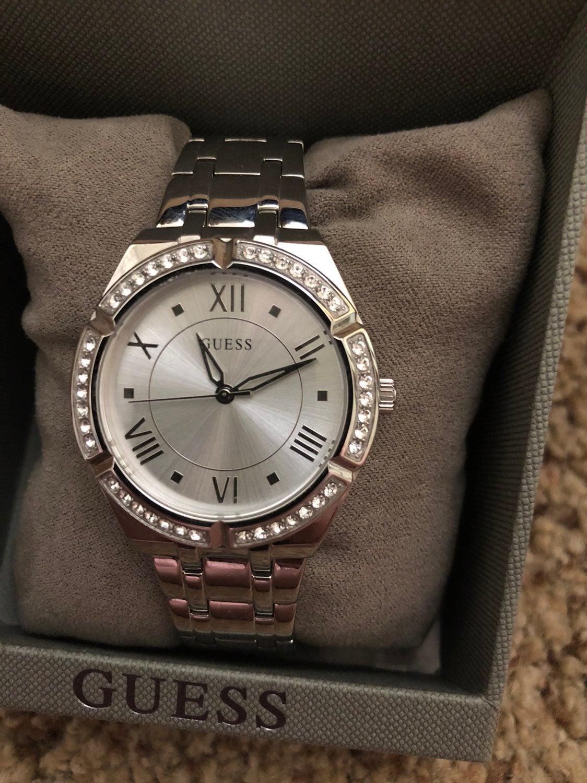 Guess watch GW0033L1 silver tone