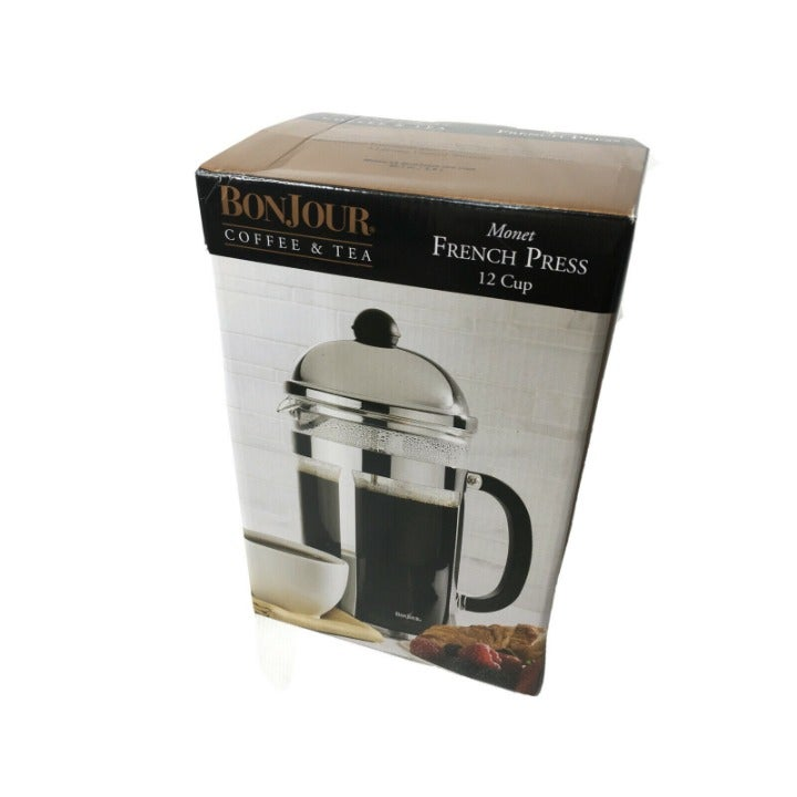 BonJour Monet 12-Cup French Press Coffee