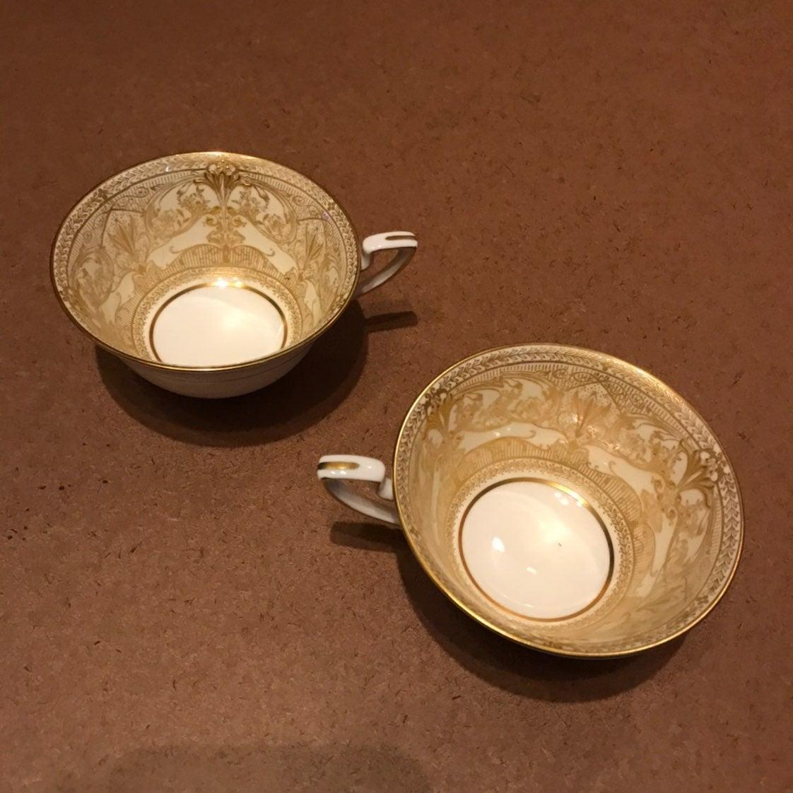 Royal Worcester HAREWOOD Lot Of 2 Tea Co