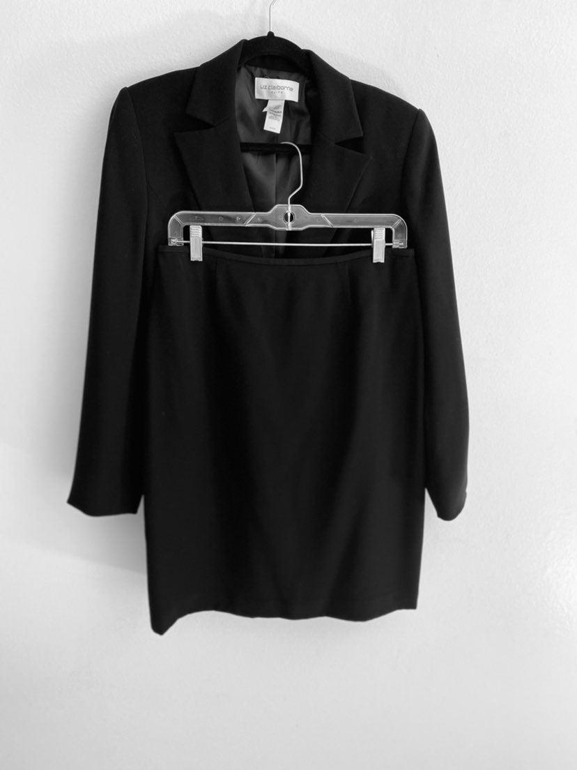liz claiborne skirt suit