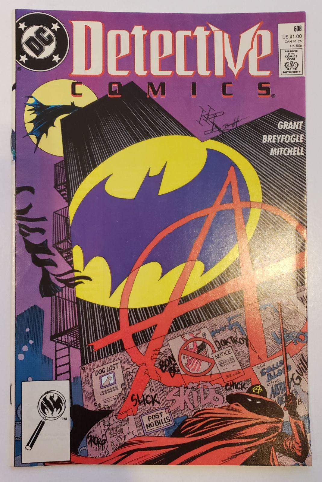 Detective Comics 608 DC 1989