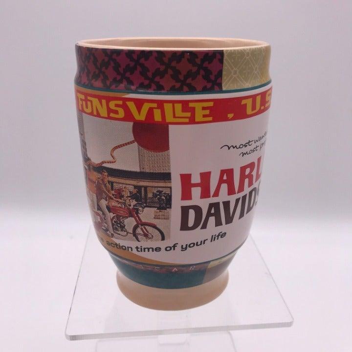 Russ Harley Davidson Coffee Mug