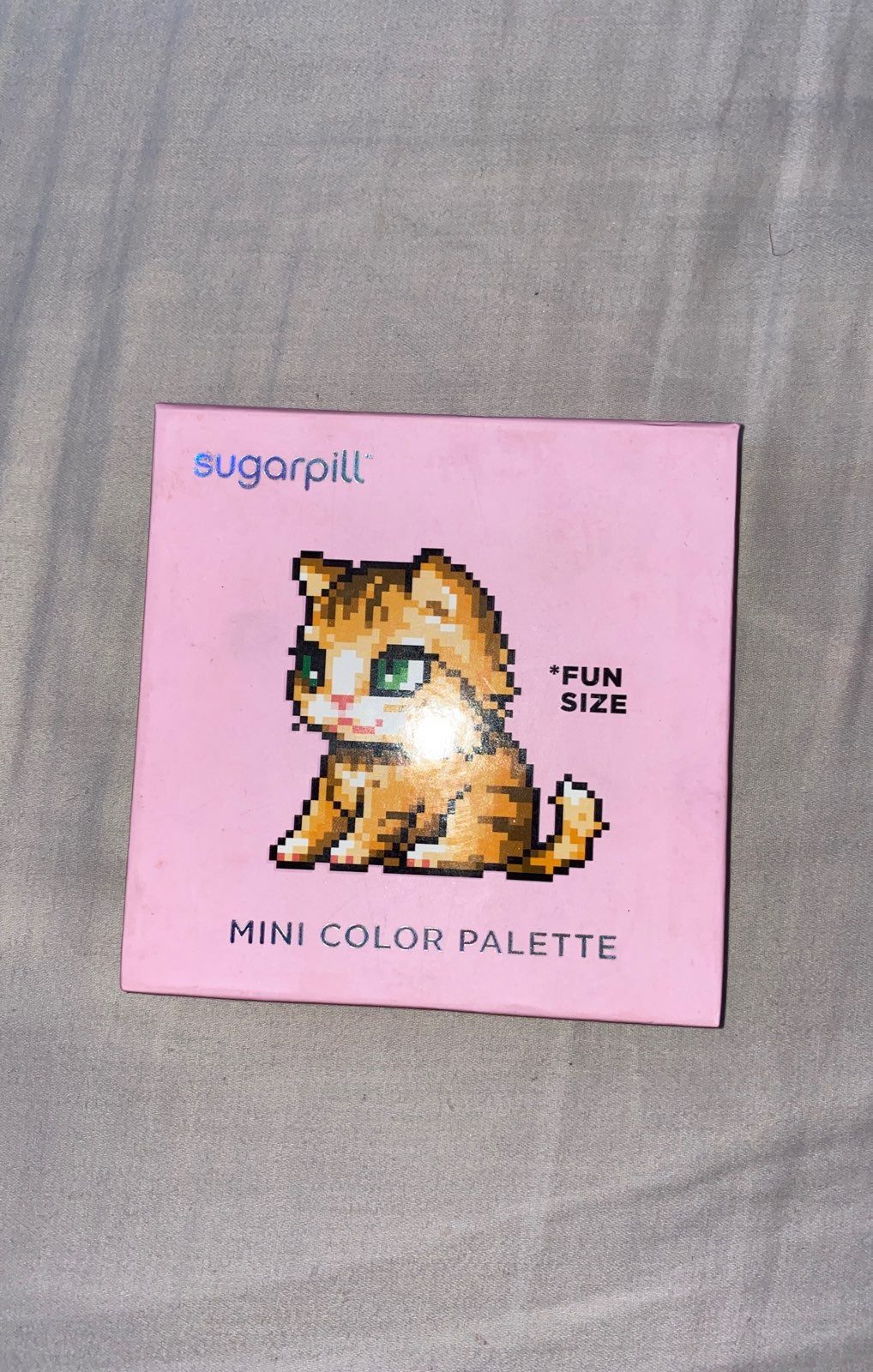 Sugar pill mini color palette