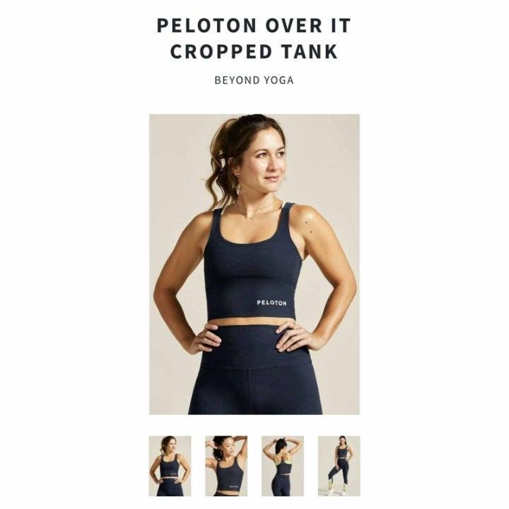 Peloton Beyond Yoga Cropped Tank Size XL