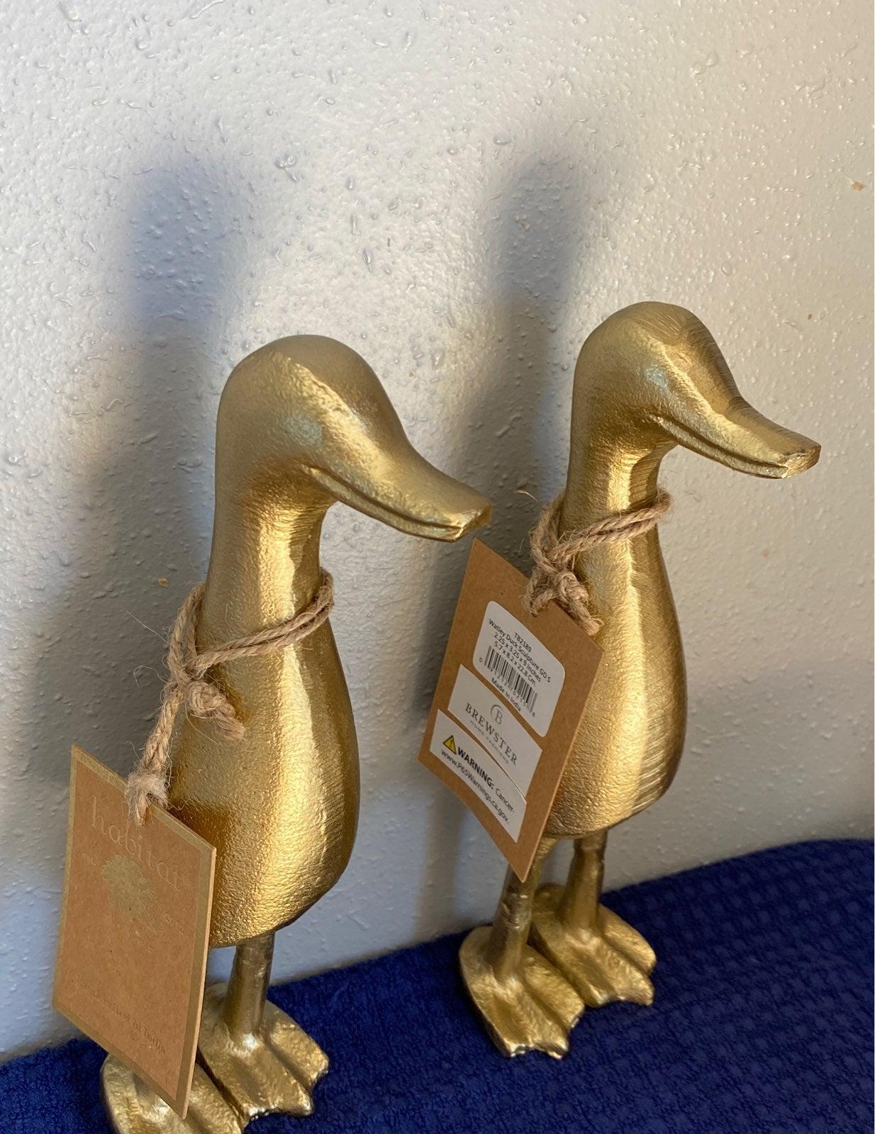 Brass tall ducks marshalls spring summer