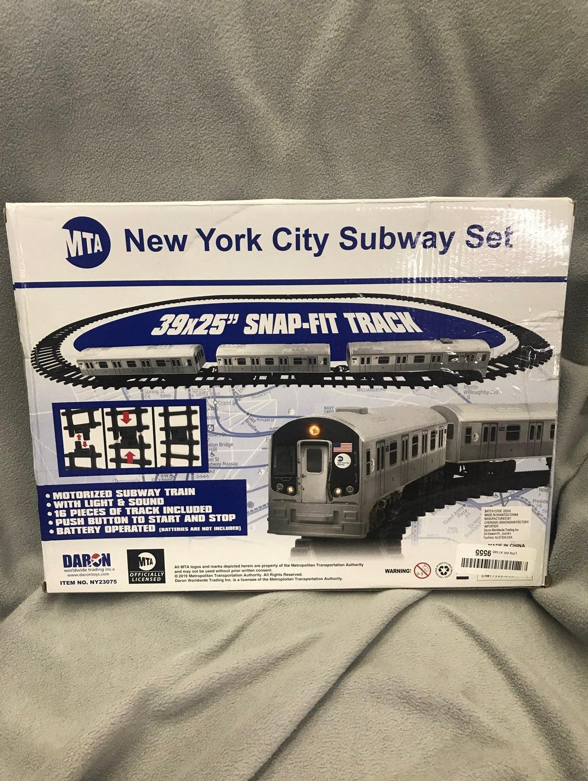 New York City Motorized Subway Set