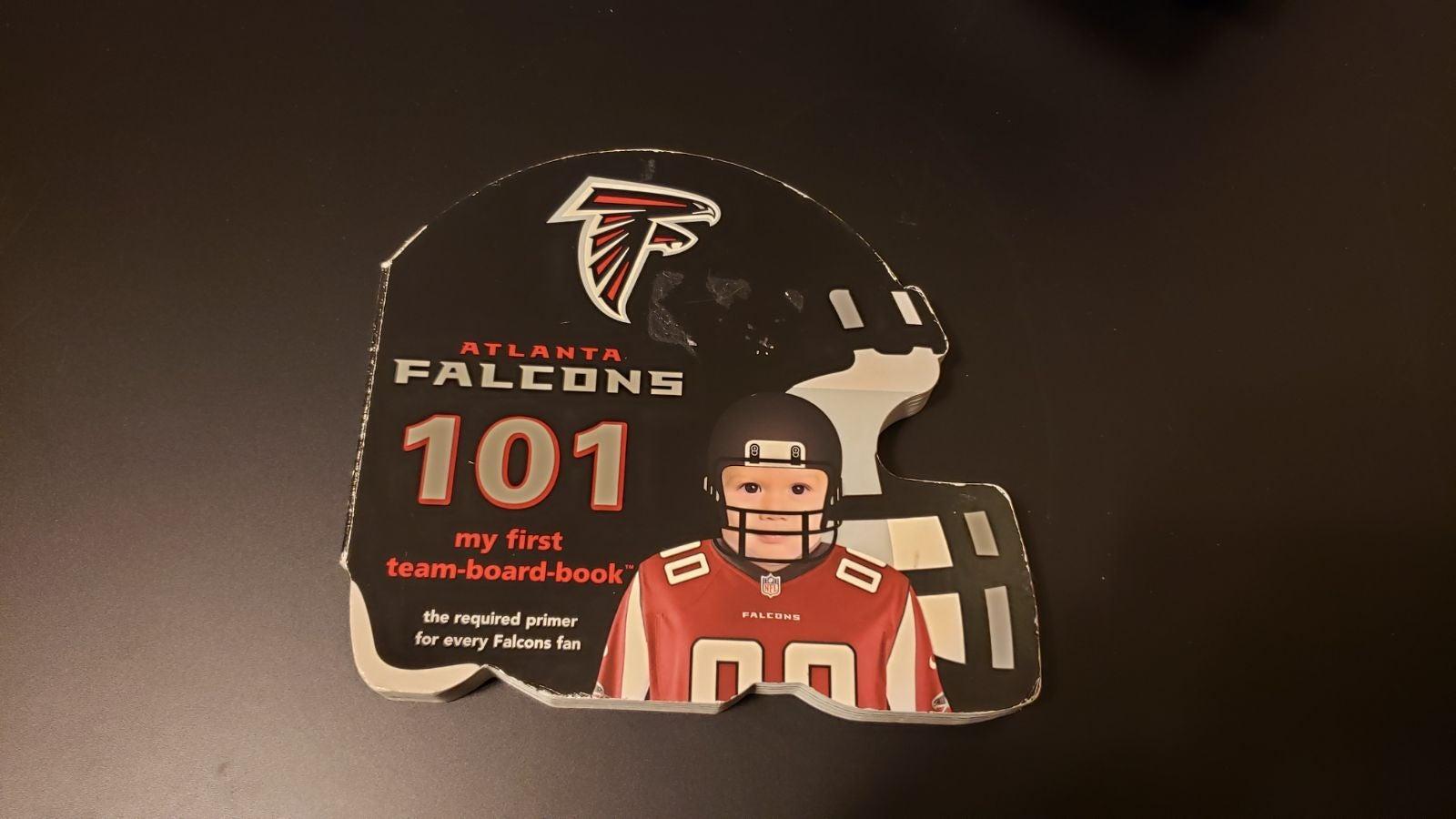 Atlanta Falcons baby book