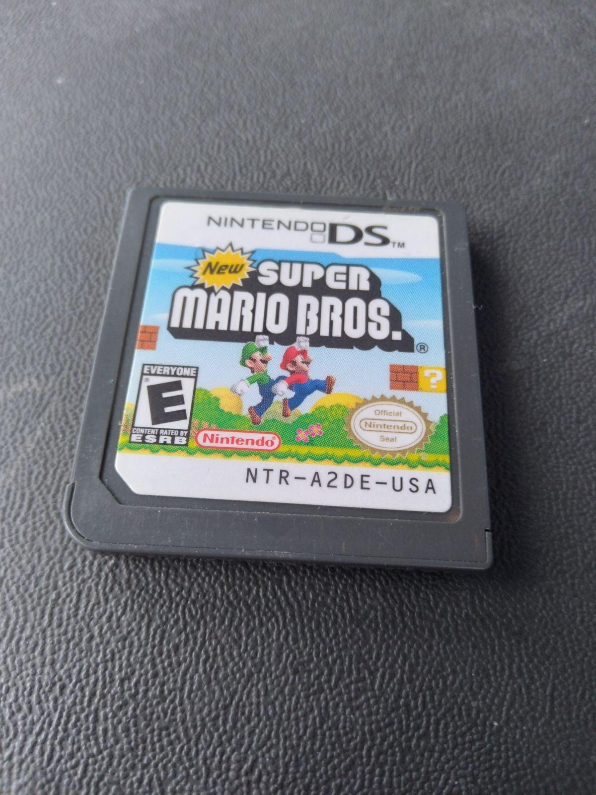New Super Mario Bros Nintendo DS Game