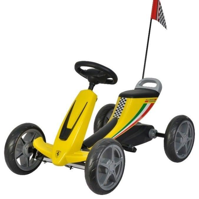Ferrari Kids Pedal Go-Kart