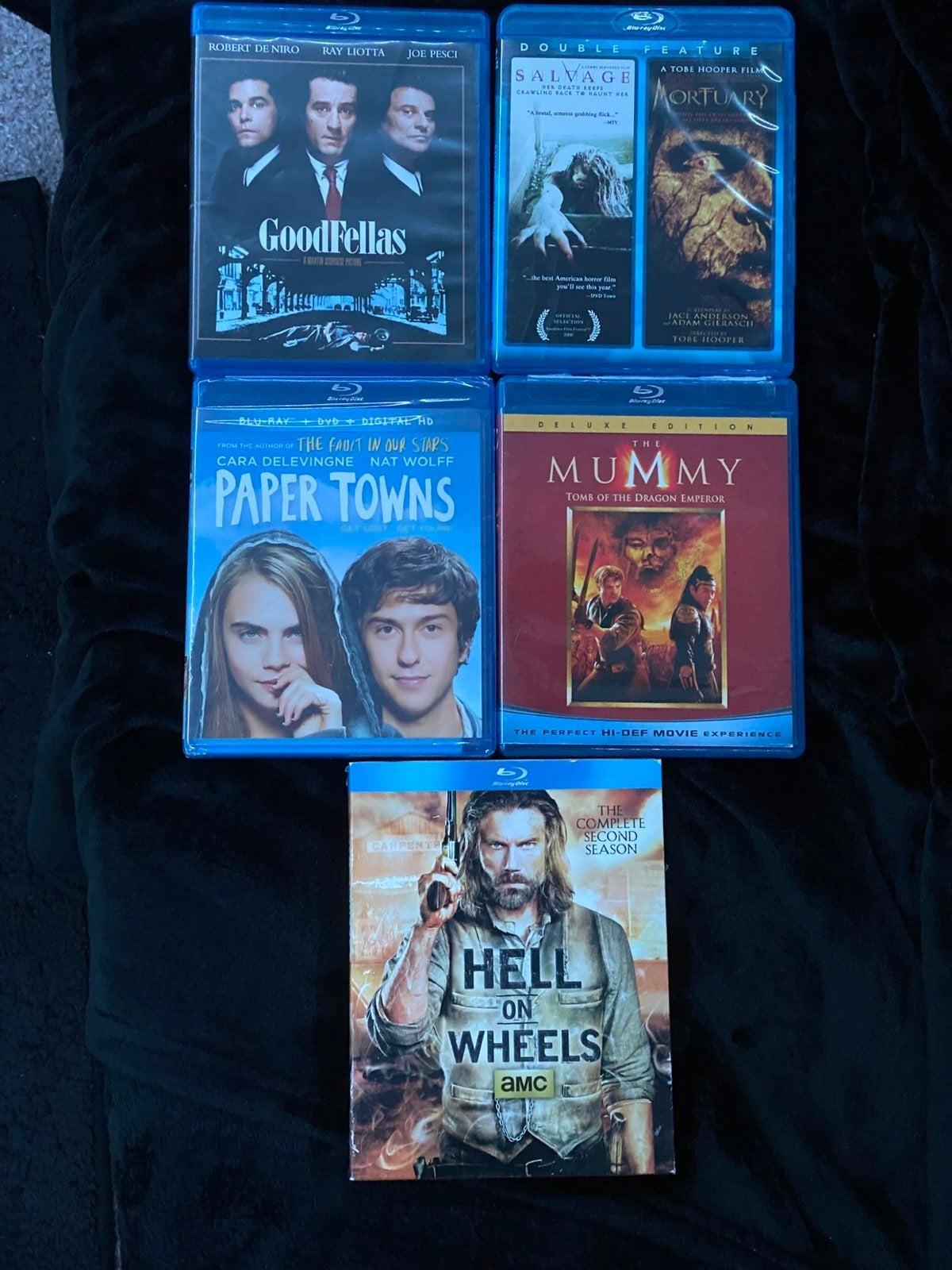 Lot of 6 Blu-Ray Movies