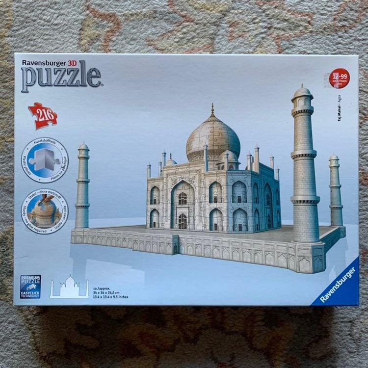 3D Puzzle TAJ MAHAL Ravensberger 100%com